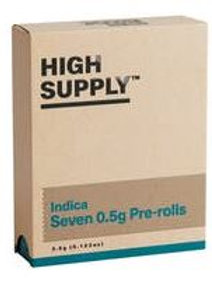 HIGH SUPPLY | Shorties 3.5g (7-pk) | THC 17.82% | Indica