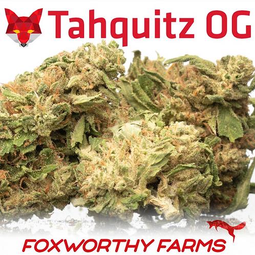$35 I TAHQUITZ OG (Smalls) I FOXWORTHY FARMS I THC 24.56%