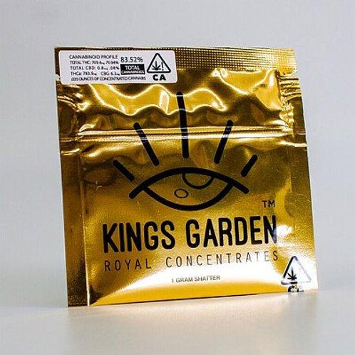 SHATTER | 33 BANANAS | 1g | KINGS GARDEN | THC 75.28% I INDICA DOMINANT