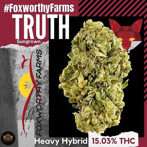 $35 I TRUTH I FOXWORTHY FARMS l THC 15.03% I Hybrid