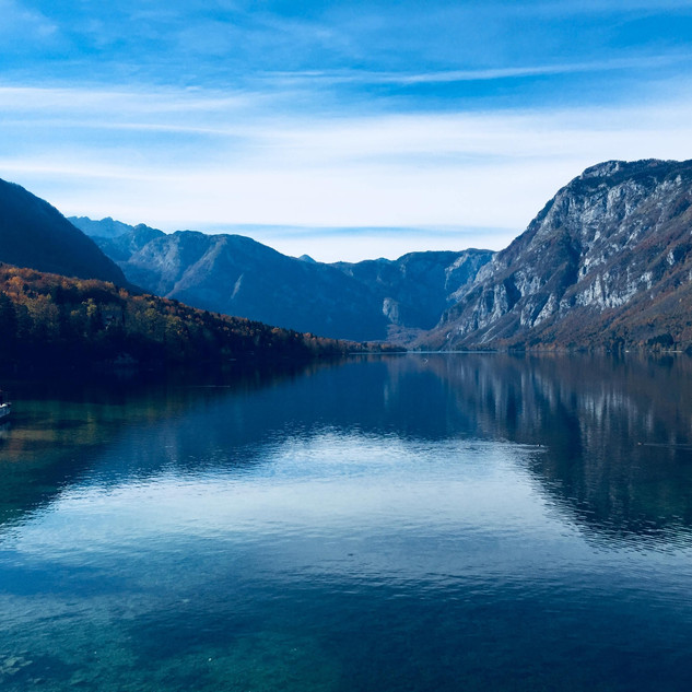 Lake Bohinj, Slovenia - October 2018