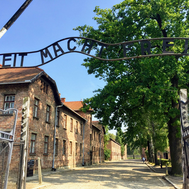 Auschwitz, Poland - September 2018