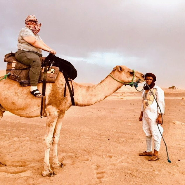 Sahara Desert, Morocco - September 2019