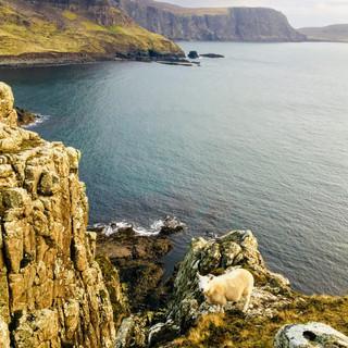 Isle of Skye, Scotland - January 2019