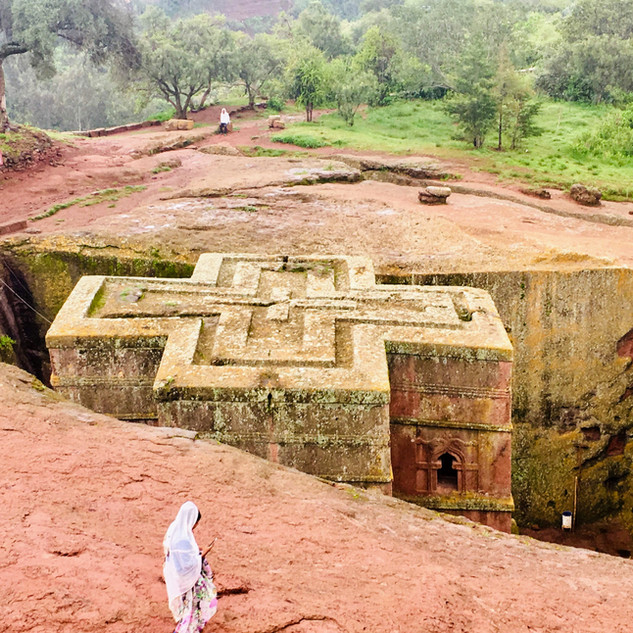 Lalibela, Ethiopia - August 2019