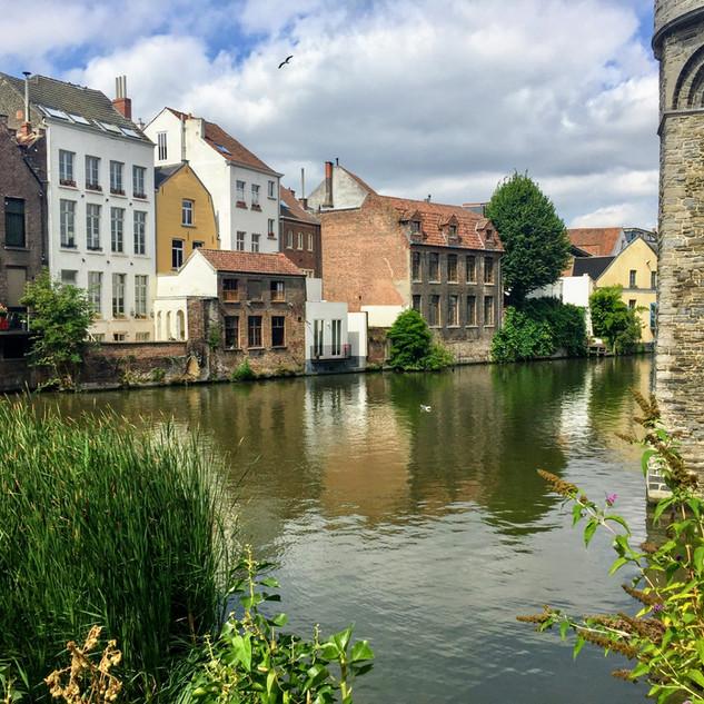 Ghent, Belgium - August 2018