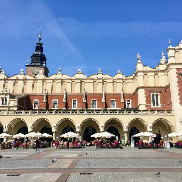 Krakow, Poland - September, 2018