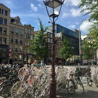 Amsterdam, The Netherlands - August 2018