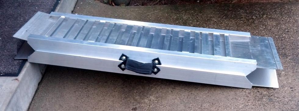 Portable Folding Ramp (FOLDED)
