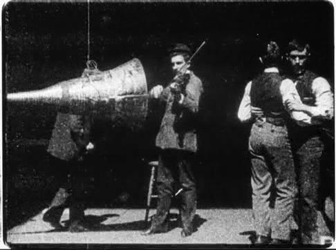 ภาพยนตร์ทดลองเรื่องแรกของเอดิสัน ที่มีการ sync เสียงพร้อมกับภาพเคลื่อนไหว