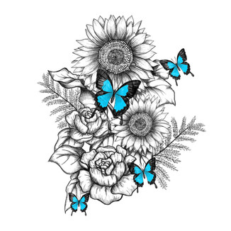 Sunflowers for Sarah