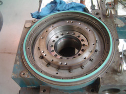 Rotary Table Turcite Replacement