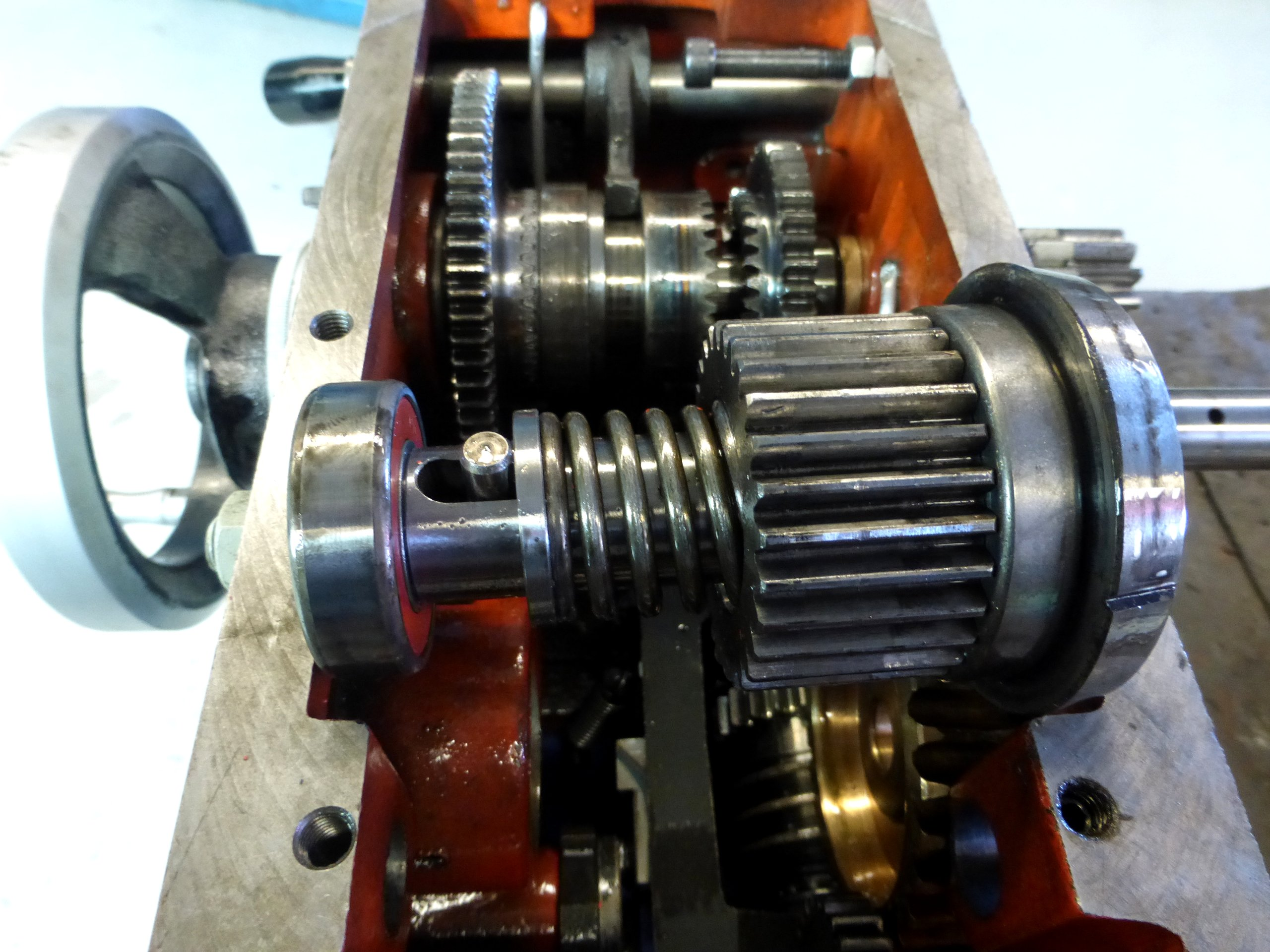 Niles Lathe Carriage Overload Clutch