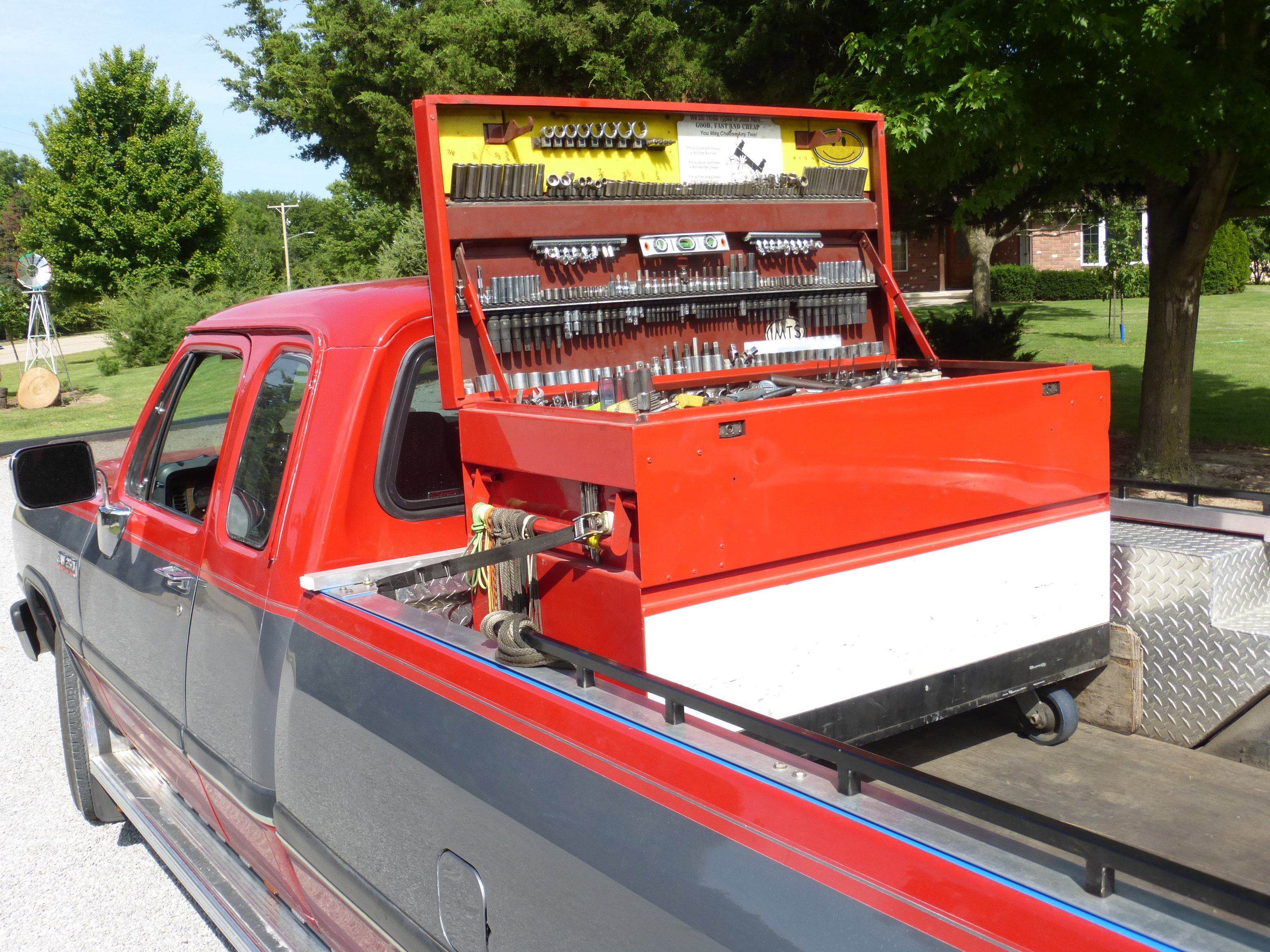 RAKO Inc Lathe Field Service Truck