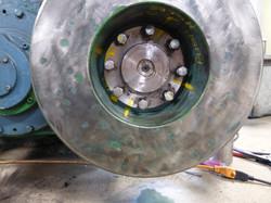 Shear Flywheel Repair