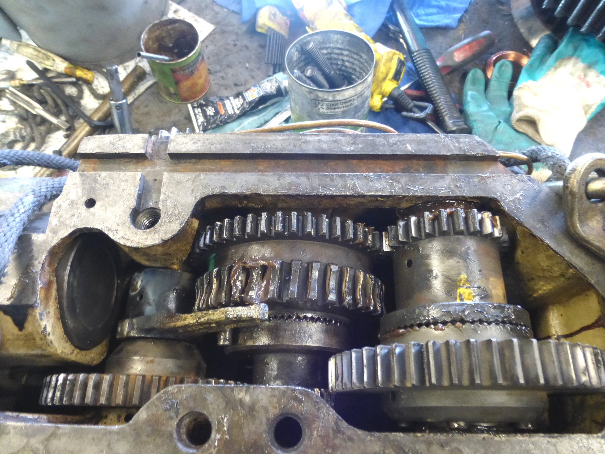 TUDA Lathe Carriage Interlock Repair