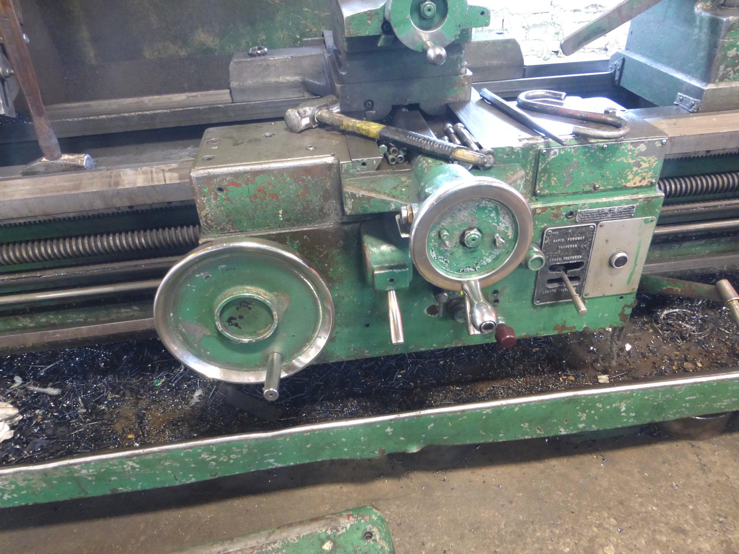 P7Carriage Lathe Gear Box Repair