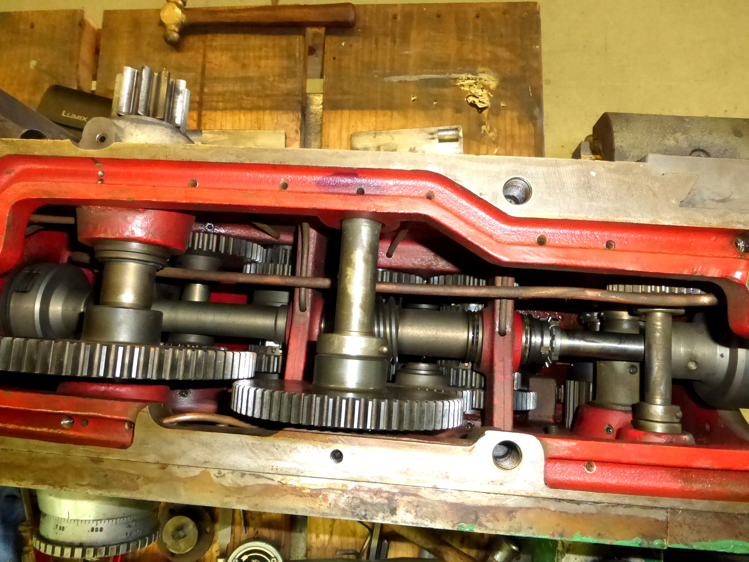 Kingston lathe Carriage Gears