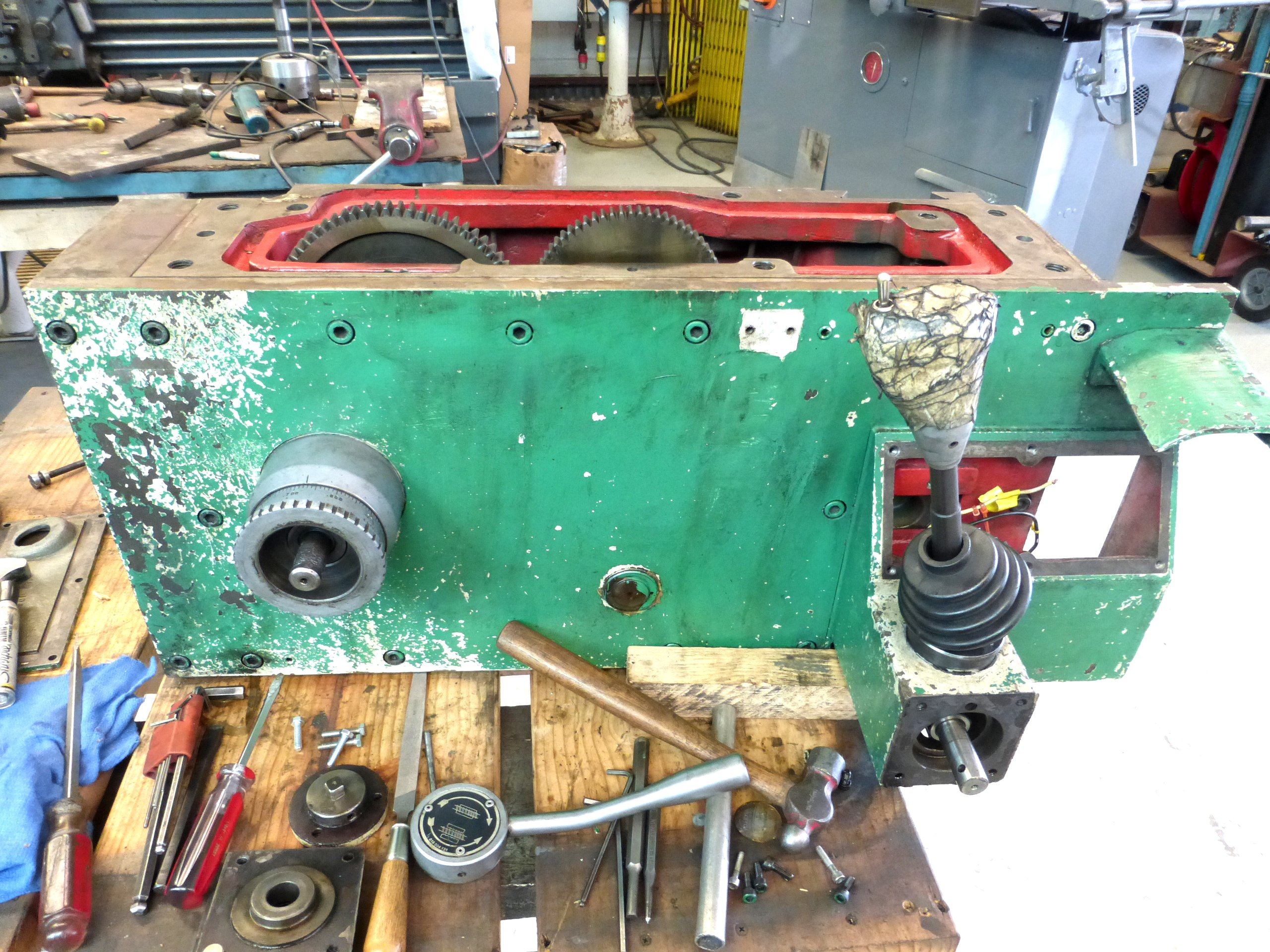 Nardini Lathe Carriage Repairs