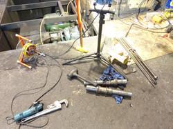 Model KFRM 630 Repairs In Process