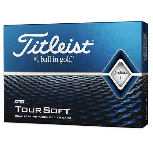 Titleist Tour Soft Golf Balls 1 Dozen (12 Balls)