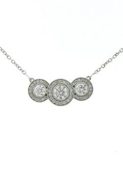 3 Halo Necklace