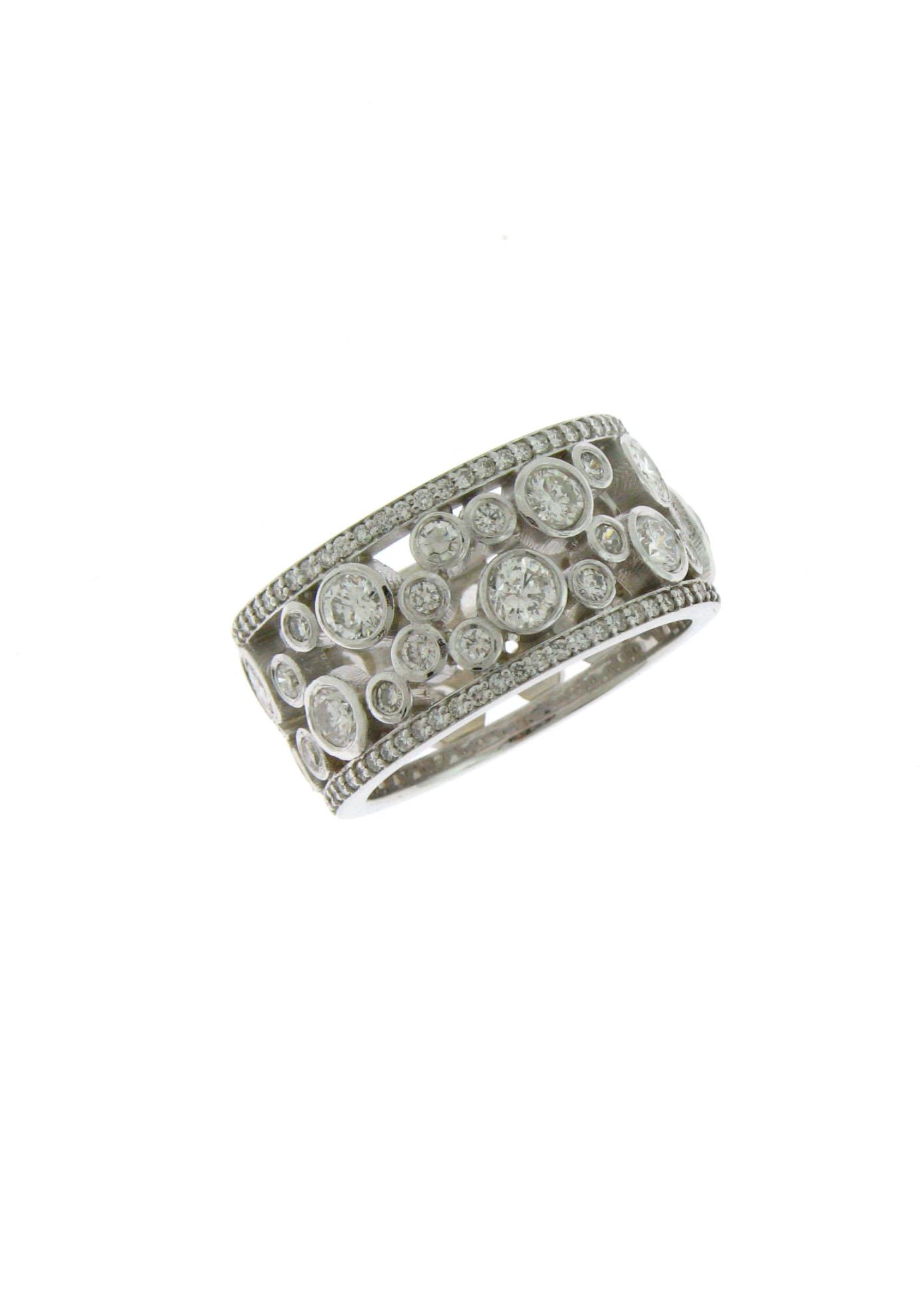 Bezel Anniversary Ring