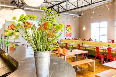 Inside View Vinaigrette Restaurant