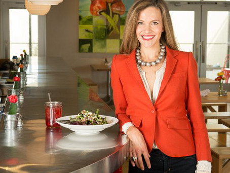 On the Dot Woman: Erin Wade -- Raising the (Salad) Bar