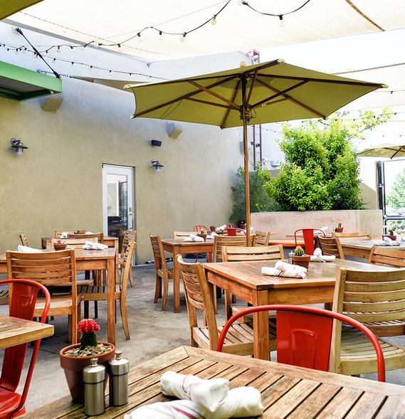 Outdoor Dining Vinaigrette Albuquerque