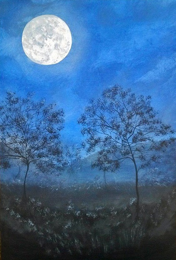 """Moon in the Meadow"""