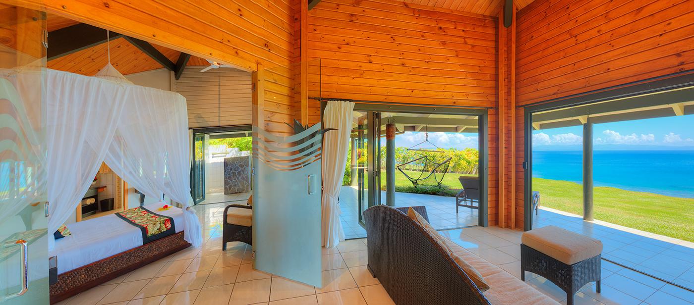 Luxury Ocean Front Villa Bedrooms
