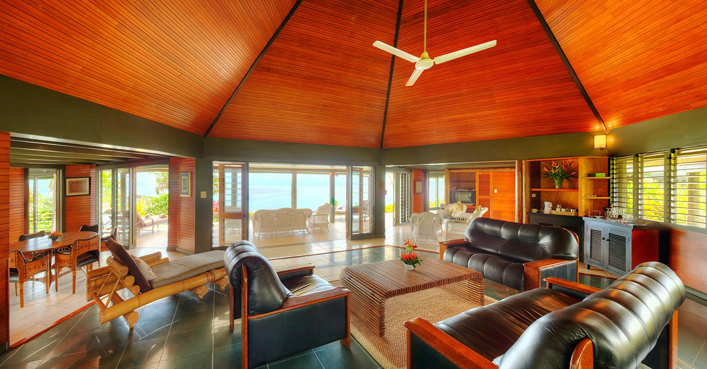Grand Matalau Luxury Villa Living 3