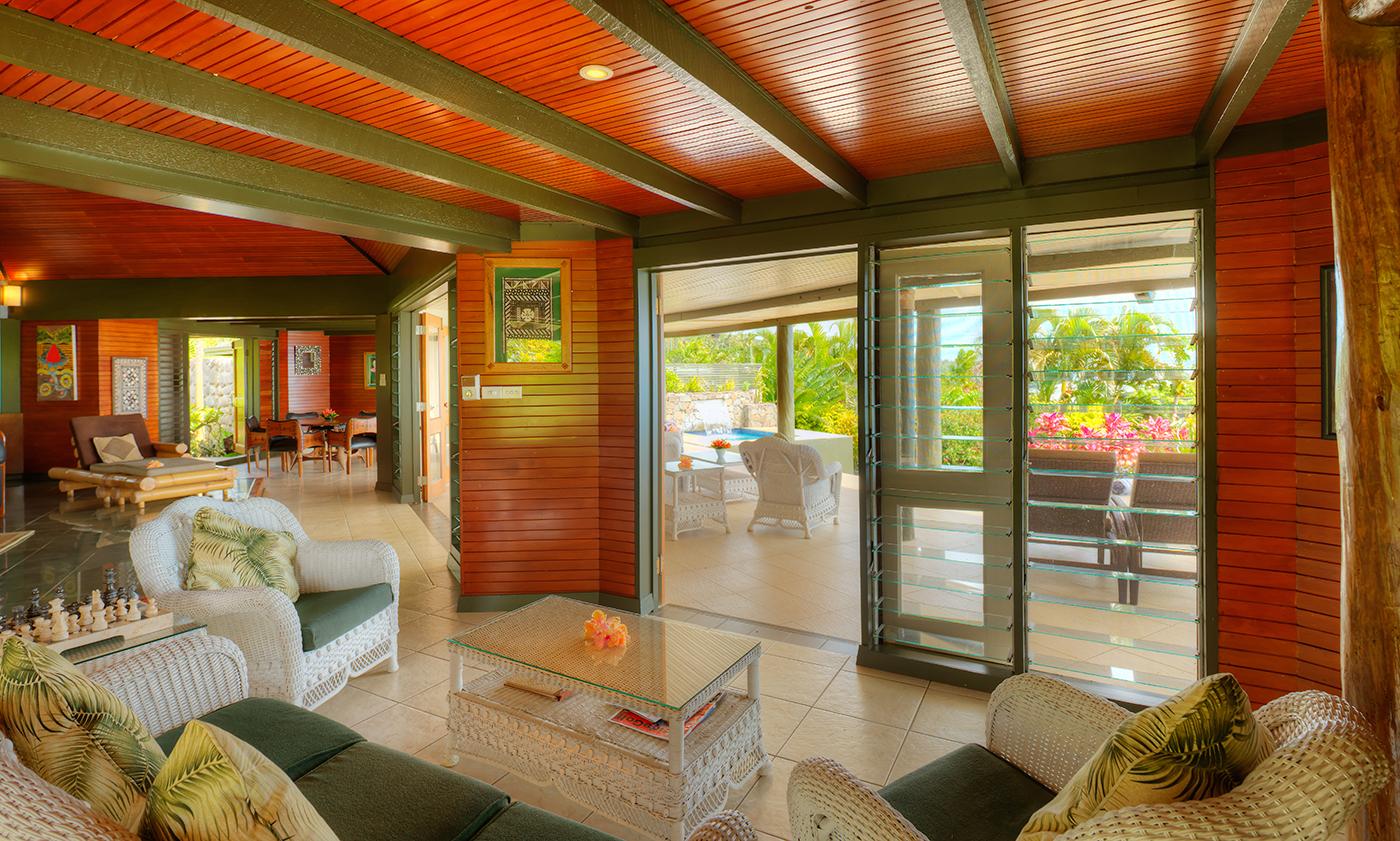 Grand Matalau Luxury Villa Living 2
