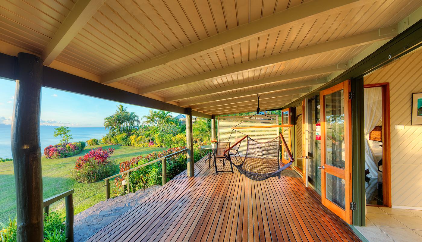 Luxury Ocean Front Villa Deck