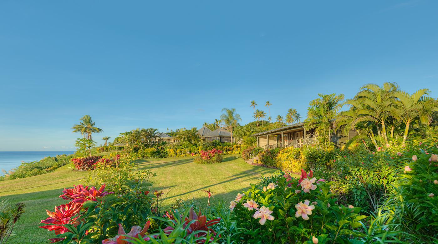 Luxury Ocean Front Villa Gardens