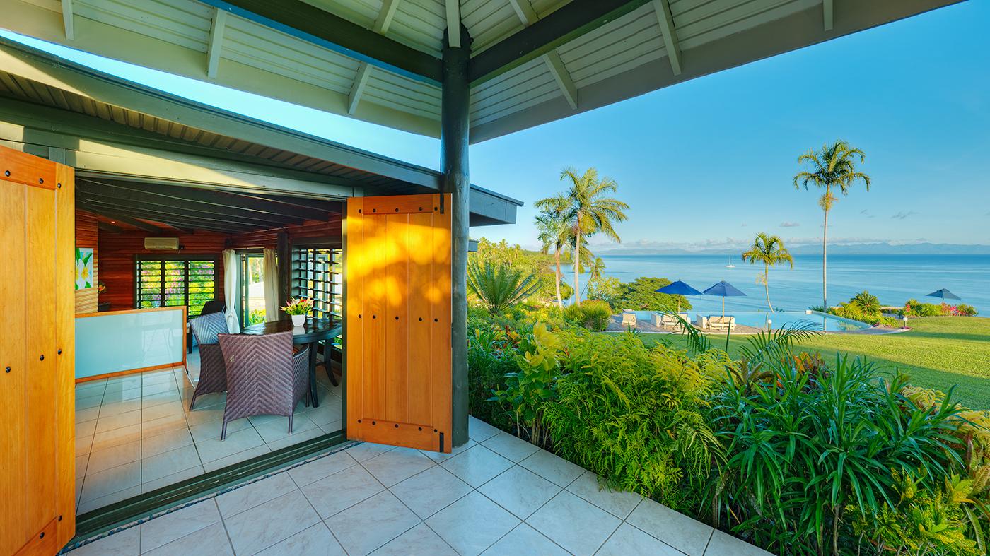 Luxury Ocean View Villa View
