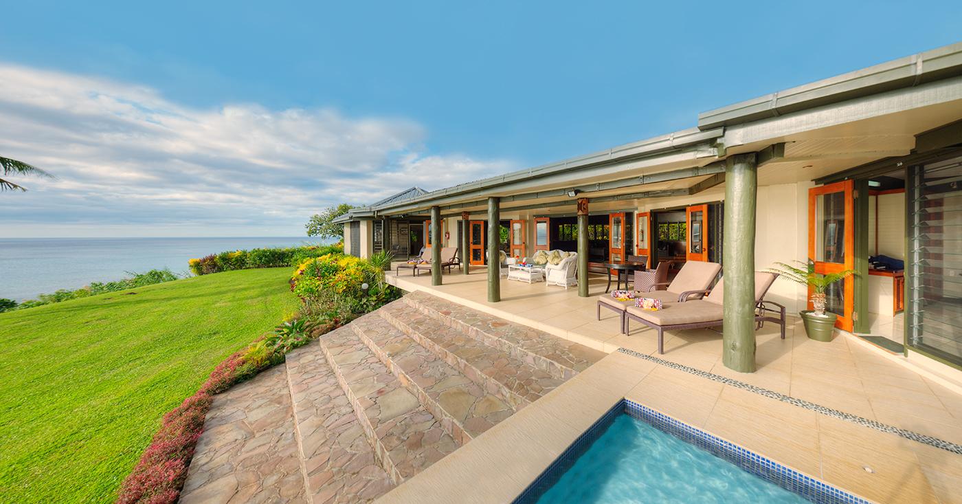 Grand Matalau Luxury Villa Pool