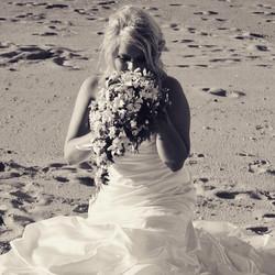 Fiji Beach Wedding Bride