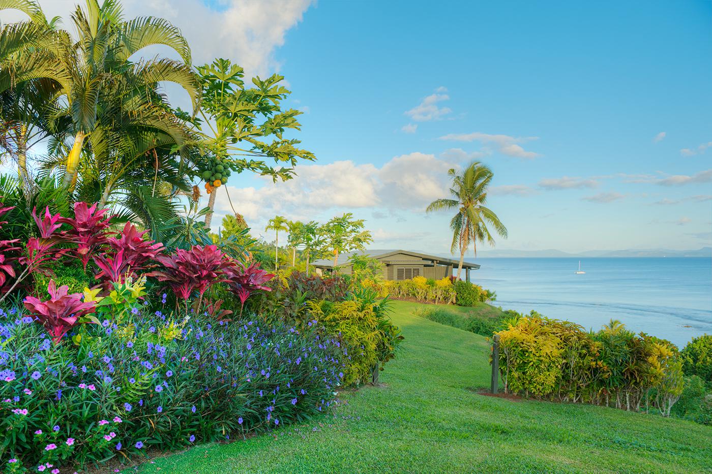 Luxury Ocean Front Villa Grounds