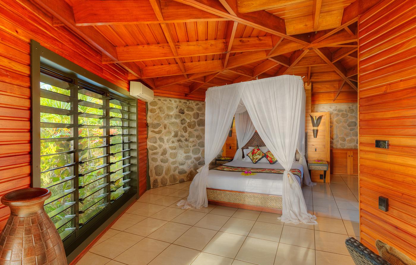 Luxury Ocean View Villa Bedroom