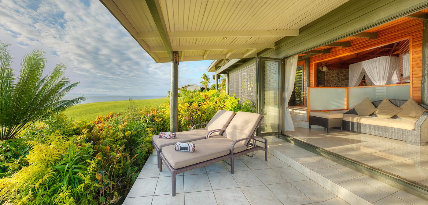 Luxury Ocean View Villa Deck