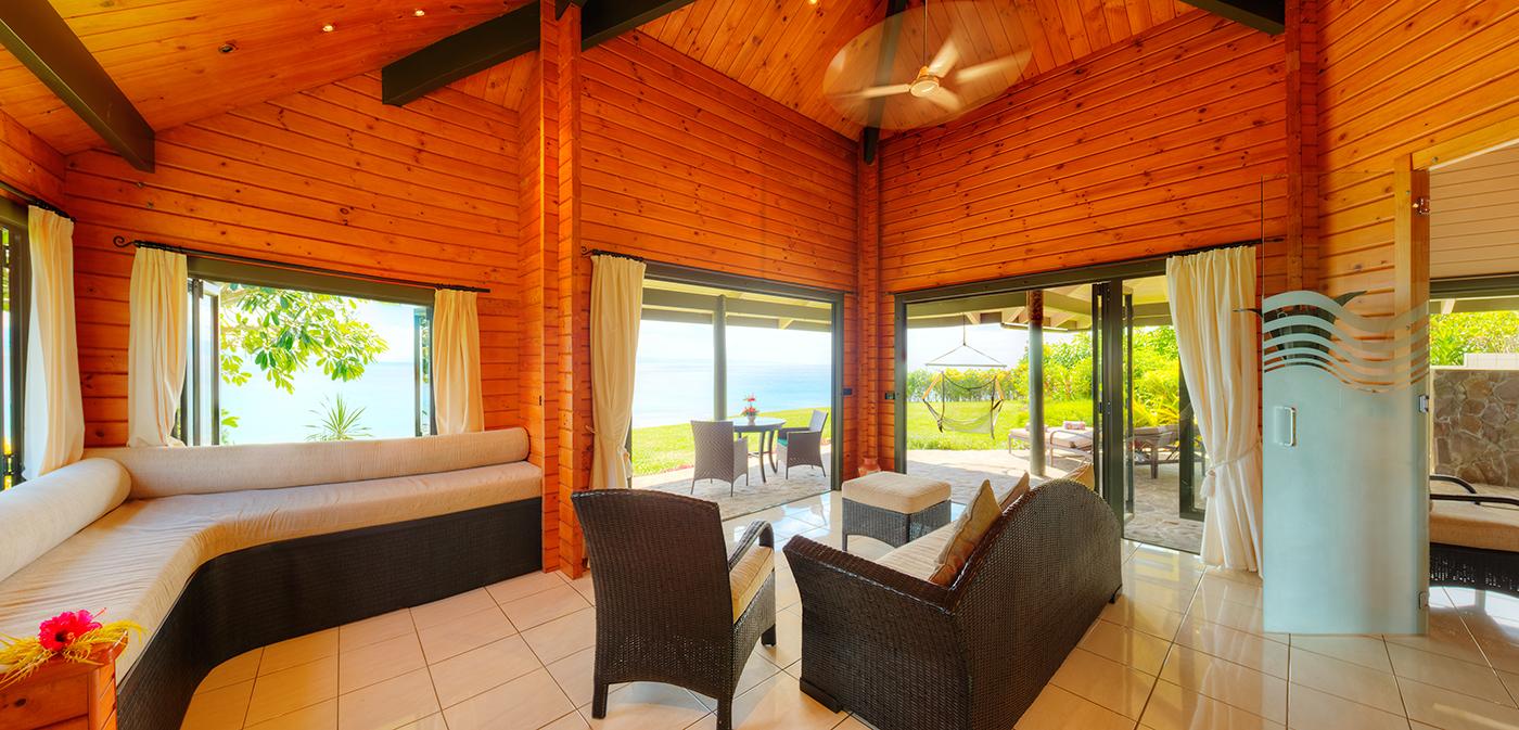 Luxury Ocean Front Villa Living
