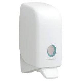 Hand-push sanitiser dispenser