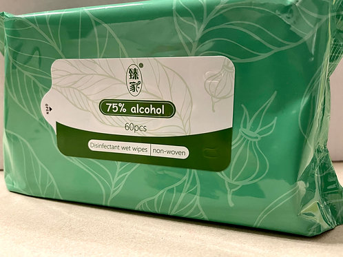 Anti-bacterial wipes (75% alcohol) x 20 packs