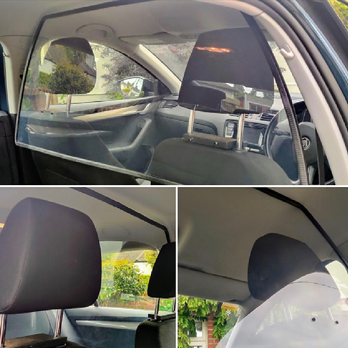 Vehicle internal safety screen (front/rear divider)