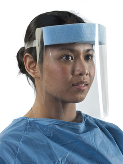 Adjustable face visor / pack of 10