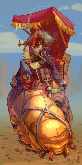 Itinerant Trader