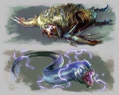Zombie Sea Creature