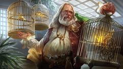 Bird seller
